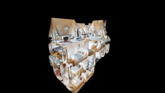 wirtualny spacer - model 3d